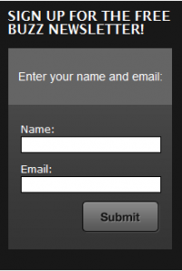 Email Opt In Form Example